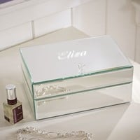 Mirrored Stackable Jewelry Box