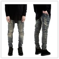 Stretch Jeans Slim Skinny Pants [10368015555]
