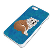 English Bulldog iPhone 5 5S Slim Fit Case