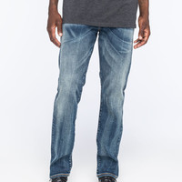 Levi's 513 Chambers Mens Slim Straight Jeans Indigo Denim  In Sizes