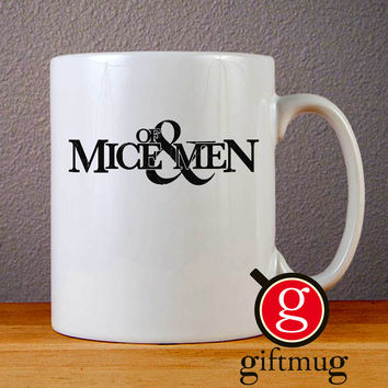 Of Mice and Men Logo Ceramic Coffee Mugs