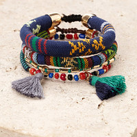 Tribal-Inspired Bracelet Set