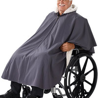 Unisex Wheelchair Lined Cape 27000 - Silverts Weather Protection   TopMobility.com