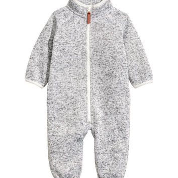 Fleece Jumpsuit - from H&M