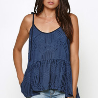 Honey Punch Embroidered Tank Top at PacSun.com