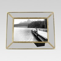 Single Image Frame 5X7 Brass - Threshold™