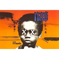 Nas Illmatic Poster 24x36