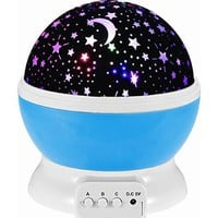 Self-Rotating Constellation Night Projector Lamp - Bring the Galaxy Home!