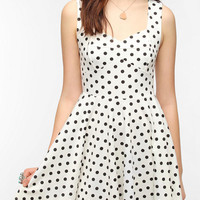 Urban Outfitters - Pins and Needles Knit Polka Dot Dress