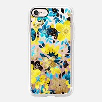 Happy Yellow Flower Collage - transparent iPhone 7 Case by Micklyn Le Feuvre | Casetify