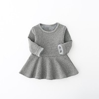 baby girl dress long sleeve winter toddler cotton children clothes infant clothing kids new arrival christmas dresses for girls