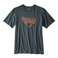 PATAGONIA MEN'S GROOVY TYPE T-SHIRT