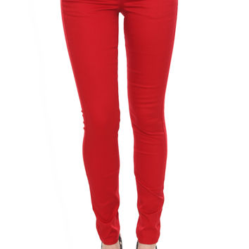 LOVEsick Red Skinny Jeans | Hot Topic