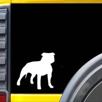 Pitbull Uncropped *J670* Decal American Bully Sticker