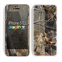 The Real Woods Camouflage Skin for the Apple iPhone 5c