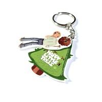 Bob Ross - Happy Trees Keychain