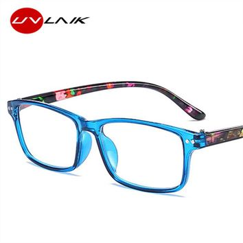 UVLAIK Men Reading Glasses Women Anti Fatigue Transparent Eyeglasses Small Frame Reading-glasses 1.0 1.5 2.0 2.5 3.0