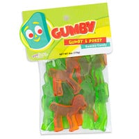 Gumby & Pokey Gummies 6-Ounce Peg Bags: 12-Piece Box