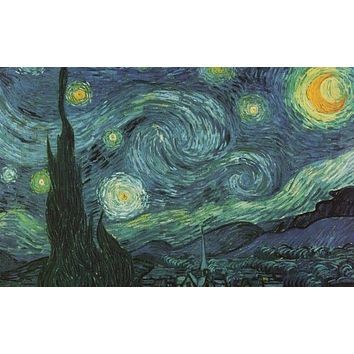 Vincent Van Gogh Starry Night Poster 24x36