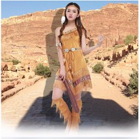 Free shipping!!!  Halloween Costumes For Women  Sexy Cosplay Costume  Indian Goddess Fancy Dress Party