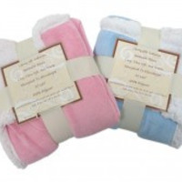 """30""""x 40"""" Reversible Sherpa Throw Baby Blankets"""