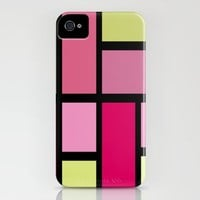 Mondo Pink iPhone Case by Dale Keys | Society6