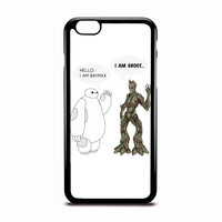 Hello I Am Baymax I Am Groot Disney Case Design For IPhone