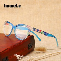 Imwete Reading Glasses Men Women Ultralight PC Frame Toughness Presbyopic Eye Glasses with Diopter Anti Fatigue Lens Unbreakable