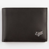 Fox Bifold Leather Wallet Black One Size For Men 10126910001