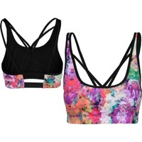 STUDIO by Capezio Women's Sydney Printed Sports Bra