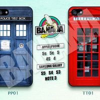 Doctor Who, Police Box, Telephone, iPhone 5 case, iPhone 5S case, iPhone 5c case, Phone case, iPhone 4 Case, iPhone 4S Case, Phone Skin PP01