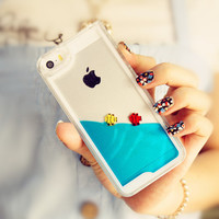 My Personal Fish Tank iPhone 5/5s Case -Baby Blue