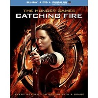 The Hunger Games: Catching Fire (Includes Digital Copy) (Blu-ray) (W)