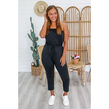 Out & About Jumpsuit - Black
