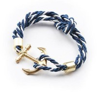 Anchor Rope Bracelet - Trendy Bracelets at Pinkice.com