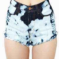 Bleach Street Cutoff Shorts