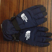 The North Face Snow Gloves Navy Blue Unisex