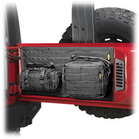 Storage & Cargo - Smittybilt® - SB 5662301 - Smittybilt® G.E.A.R. Tailgate Cover for 07-up Jeep® Wrangler & Wrangler Unlimited JK and other Jeep Wrangler Parts, Jeep Accessories and Soft Tops by FORTEC