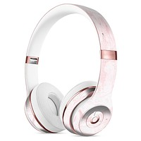 Mixtured Pink v3 Textured Marble Full-Body Skin Kit for the Beats by Dre Solo 3 Wireless Headphones
