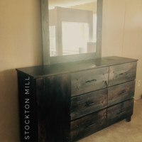 Ruby Collection Dresser with Mirror
