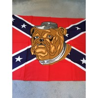 Confederate or Rebel 3 x 5 ft Flags with the Devil Dog