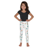 Kid's Geometrical Yoga  Leggings