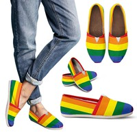 LGBT Special Custom Toms Women Casual Shoes Handmade