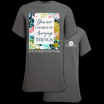 Southern Couture Preppy Amazing Things T-Shirt
