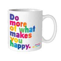 QUOTABLE DO MORE OF WHAT MUG