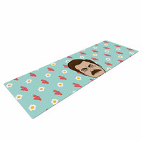 "Juan Paolo ""Give Me All Of The Bacon And Eggs"" Parks & Recreation Yoga Mat"