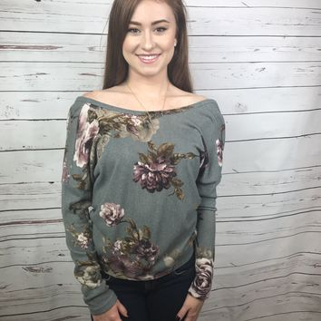 Prosecco Perfection Floral Top