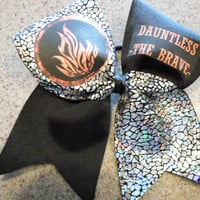 Divergent Dauntless The Brave Cheer Bow