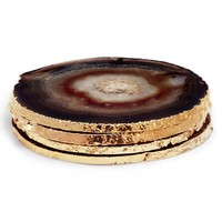 AERIN Set of 4 Agate Coasters | Nordstrom