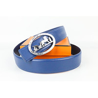 Hermes belt men's and women's casual casual style H letter fashion belt152